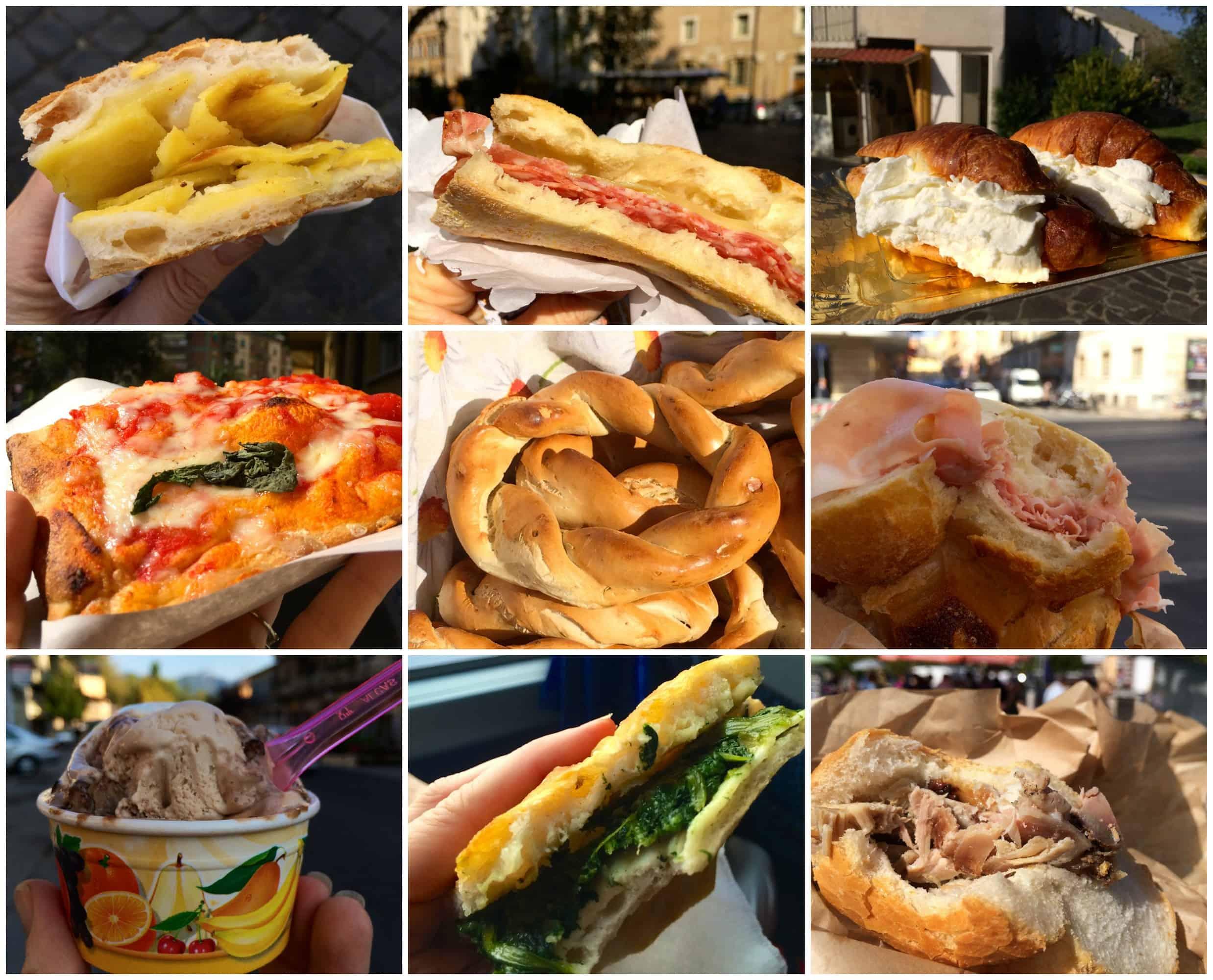 Top nine handheld snacks not to miss in italy christina for Italian snacks