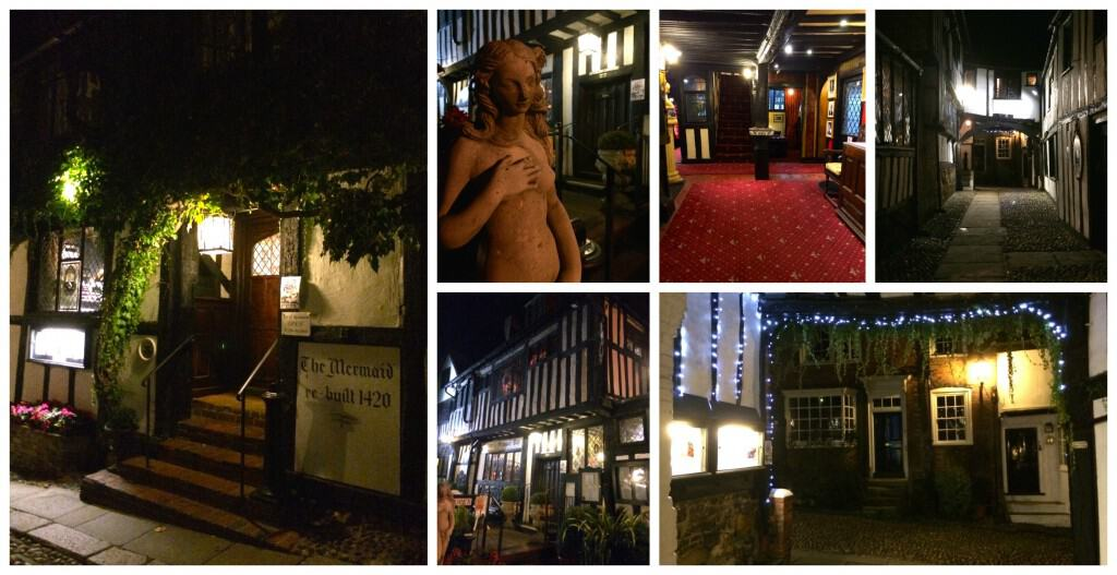 mermaid inn at night