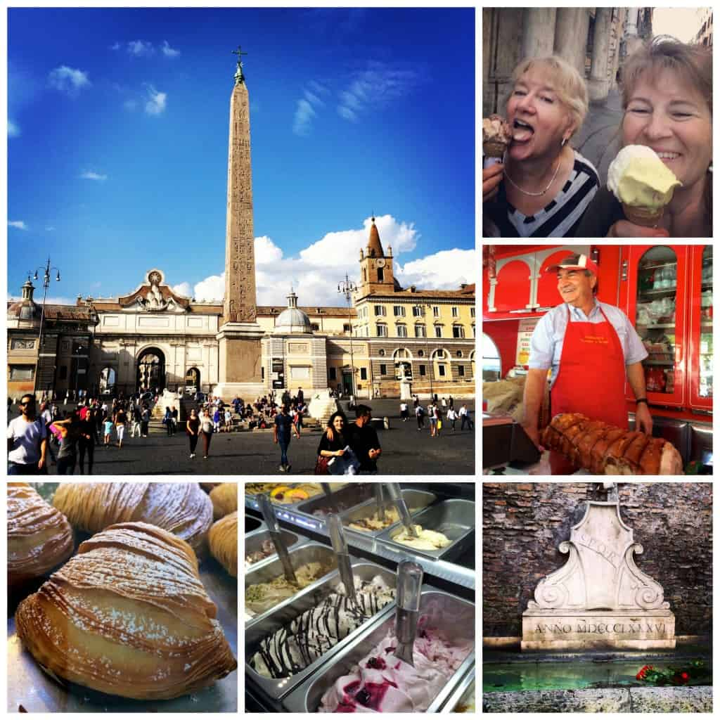 roma food collage