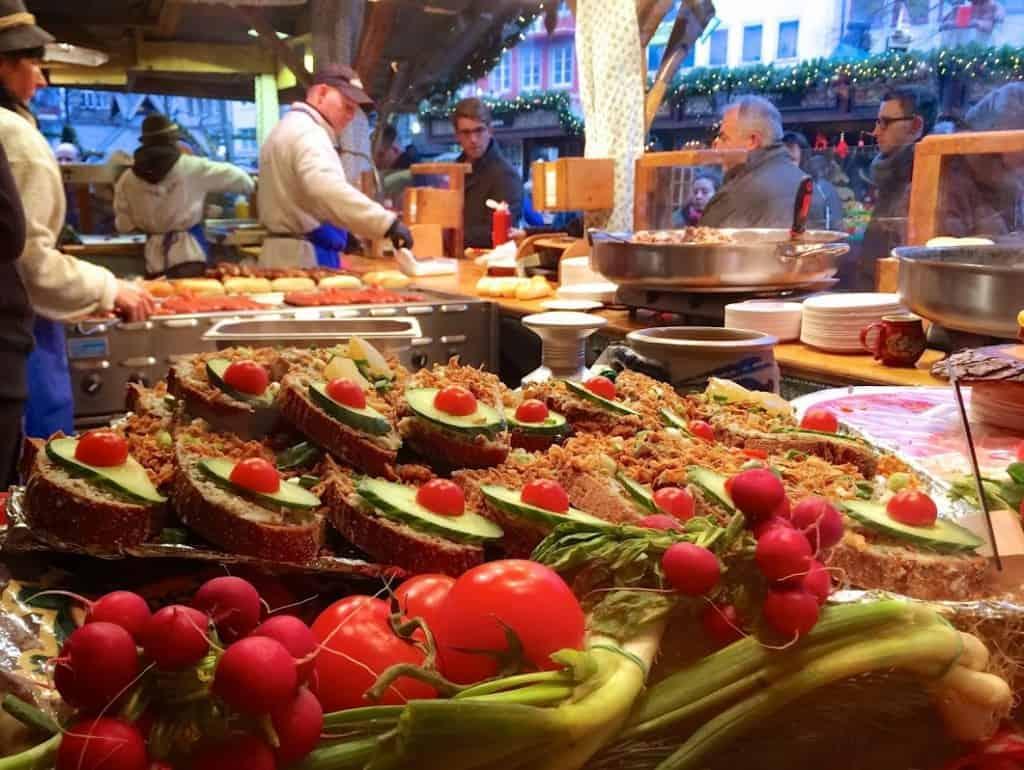German Market Food