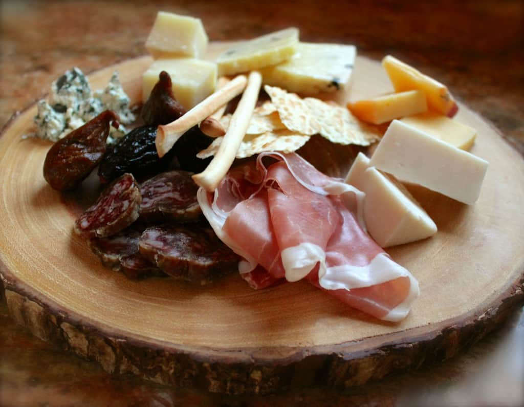 awesome cheese platter for two