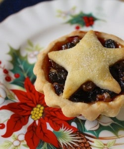 Mince pies British