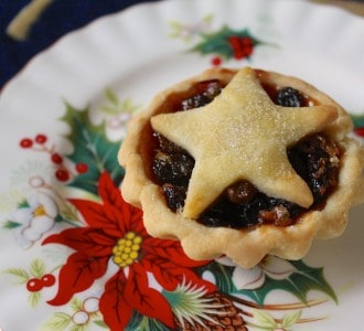 Closeup Mince Pie