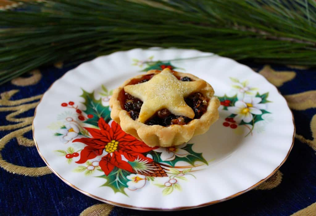 Mince Pie on a Plate