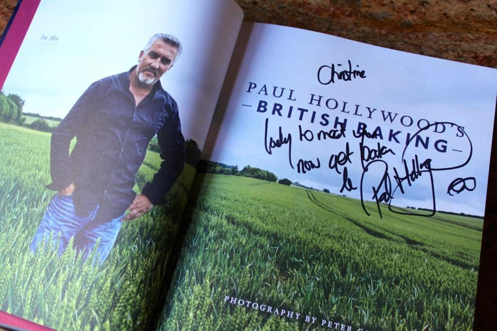 Signed Book from Paul Hollywood