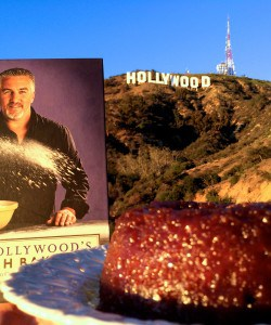 Paul Hollywood's book and steamed treacle pudding