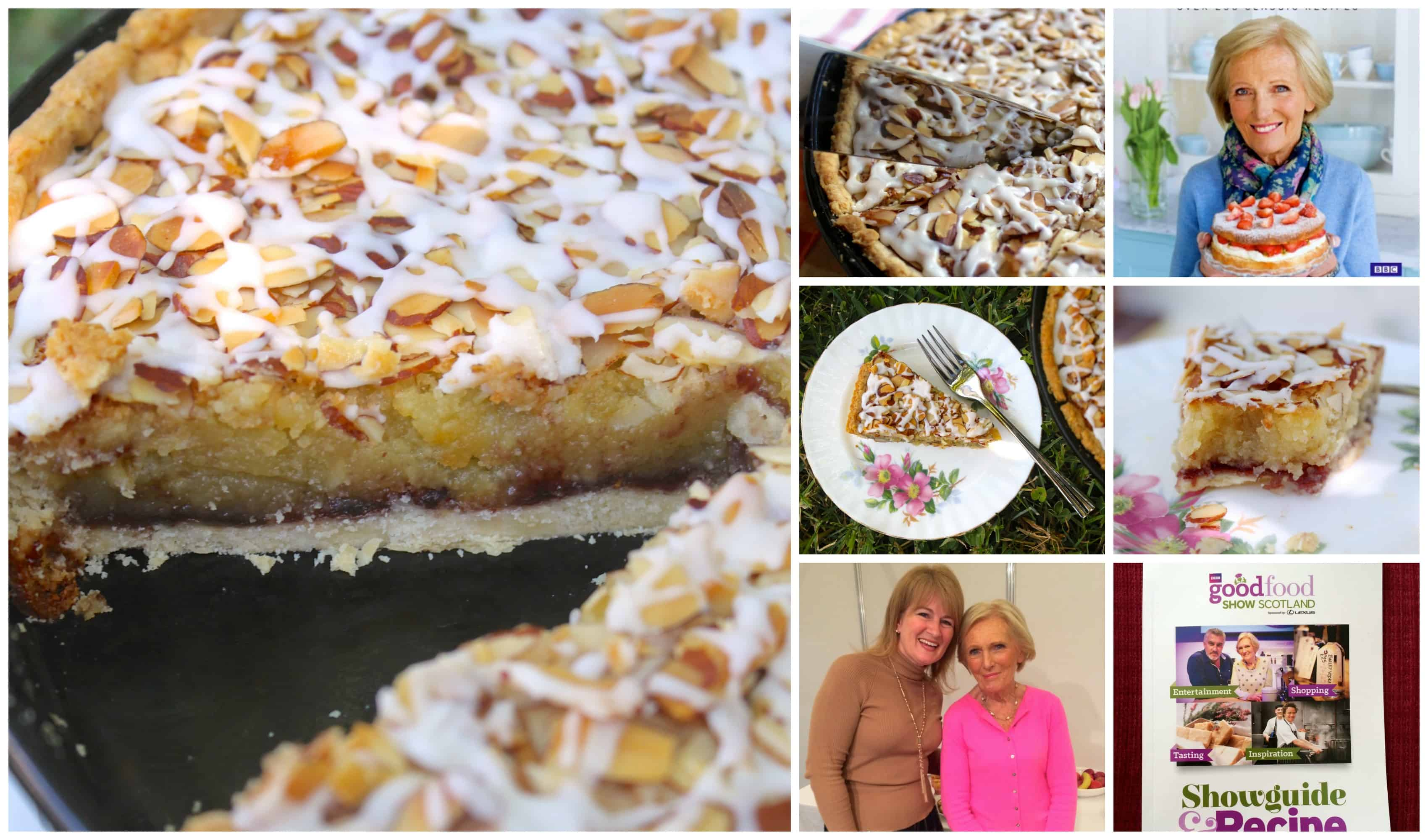 Mary Berry and Bakewell tart