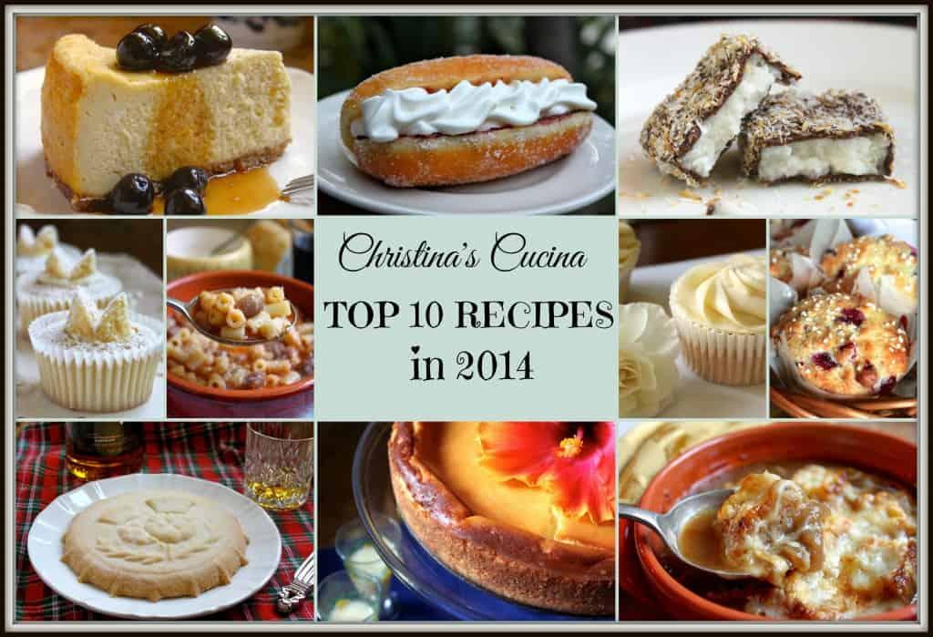 2014 Top Ten Recipes