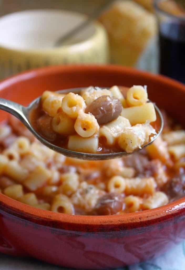 Authentic Italian Pasta and Beans