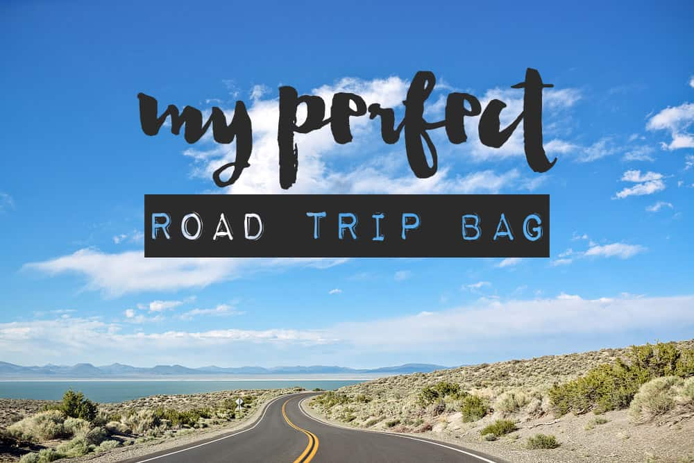 perfect road trip bag