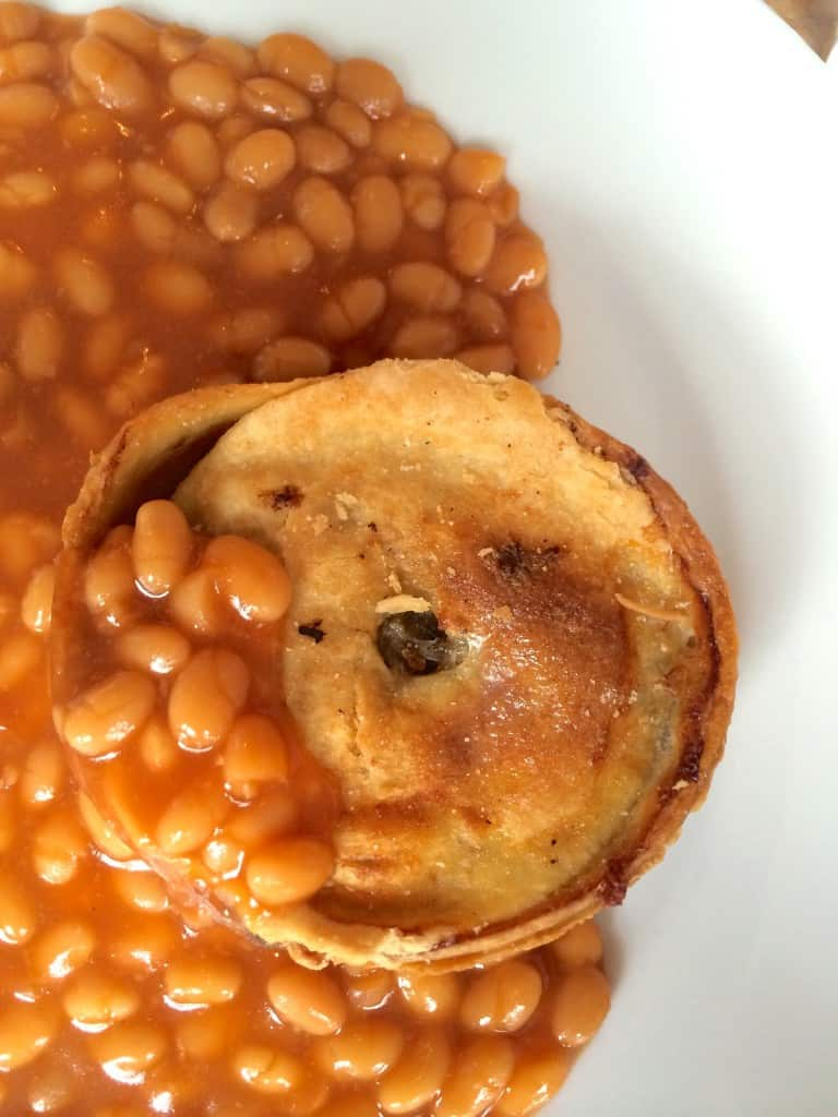 Scotch Pie and Beans