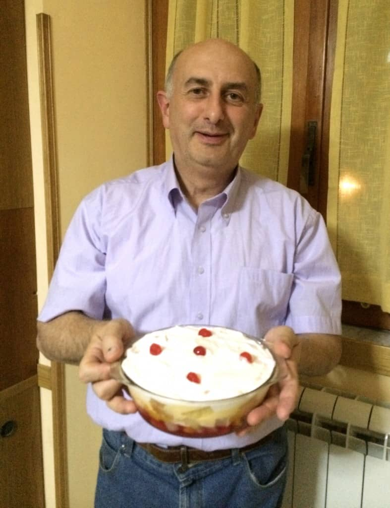 Gianfranco with Trifle