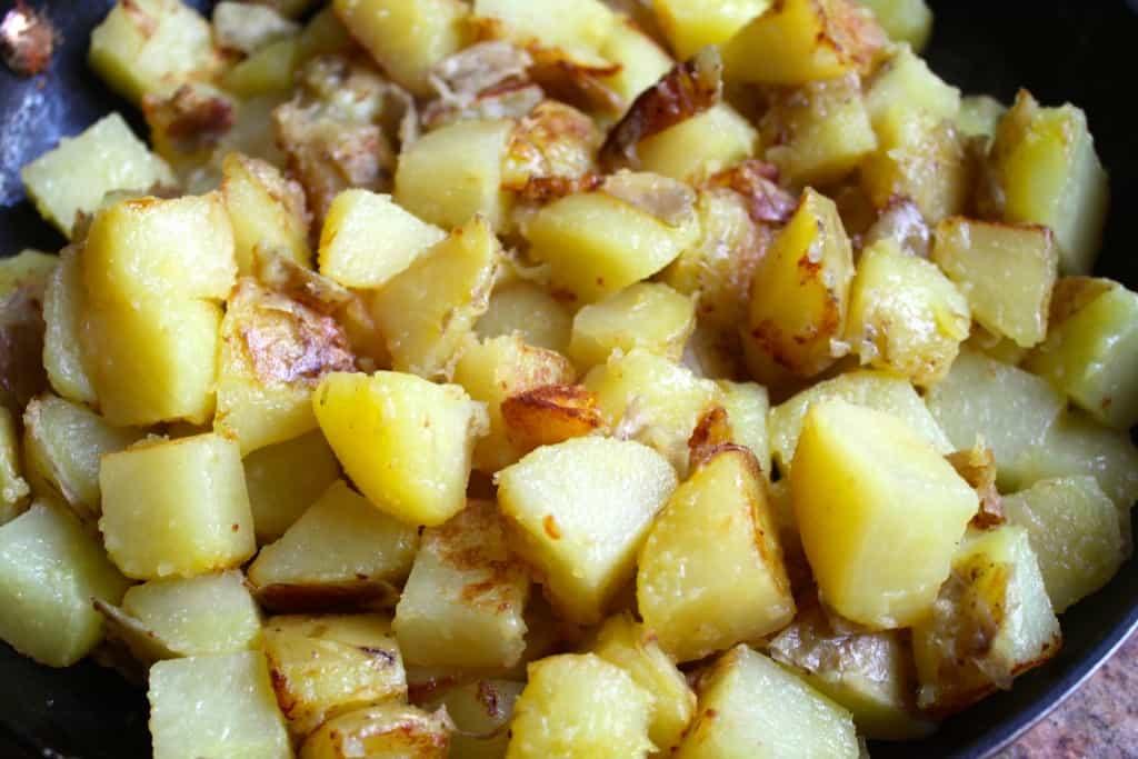 potatoes for tartiflette