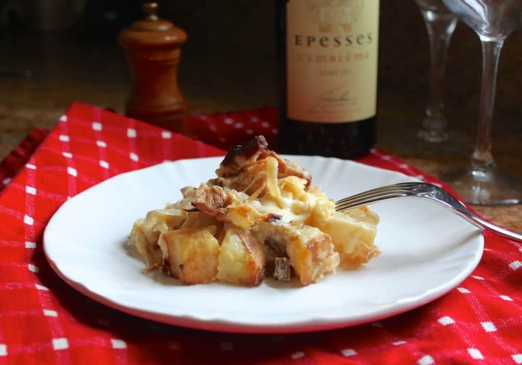 Tartiflette a french potato and cheese dish that will make you plate of tartiflette tartiflette recipe forumfinder Image collections