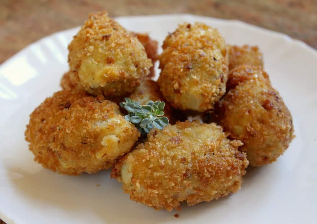 deep fried artichoke hearts