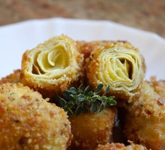 deep fried artichokes