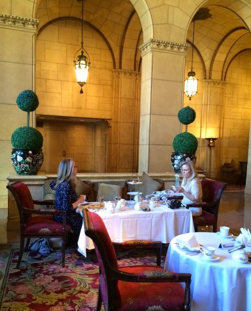 Tea at the Biltmore