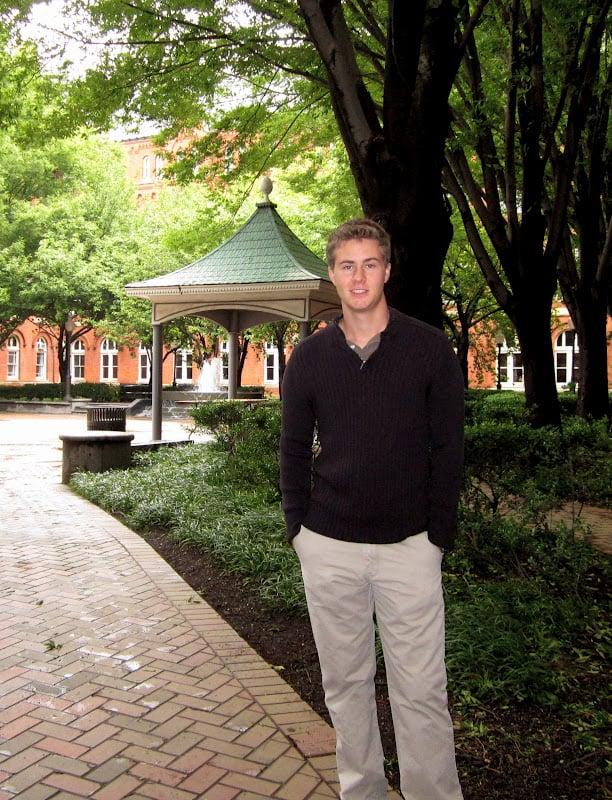 Steven at Georgetown