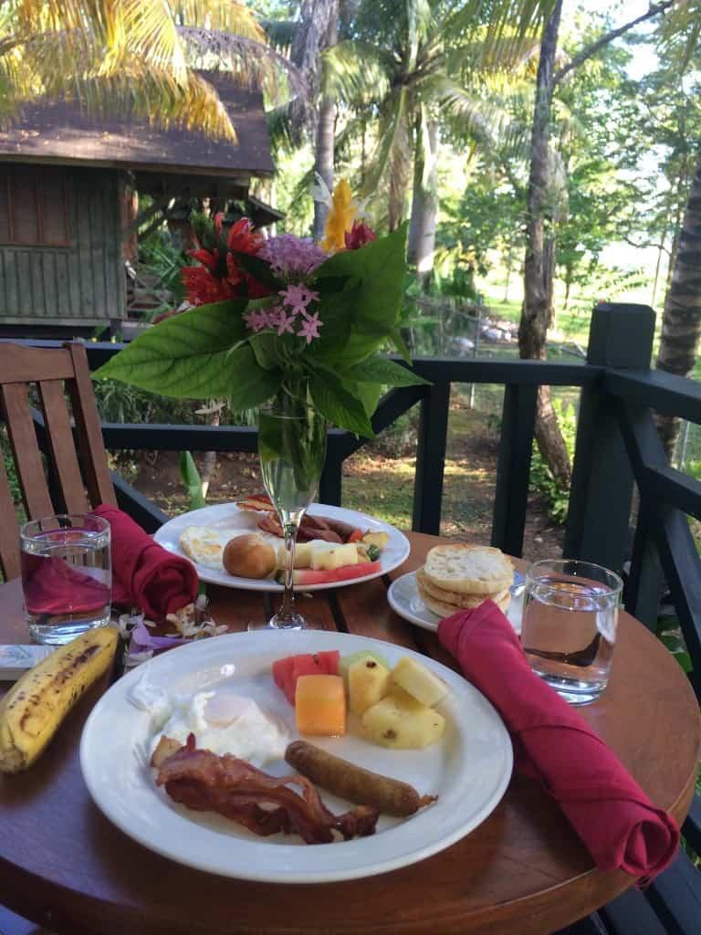 Breakfast in Jamaica
