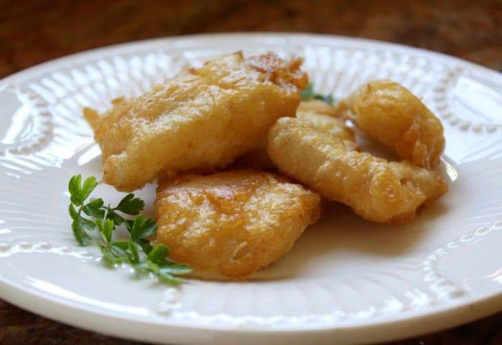 Deep Fried, Battered Salt Cod (Baccalà), Italian Style
