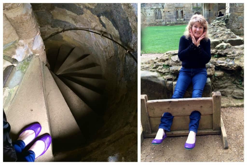 Tieks in Bodiam Castle