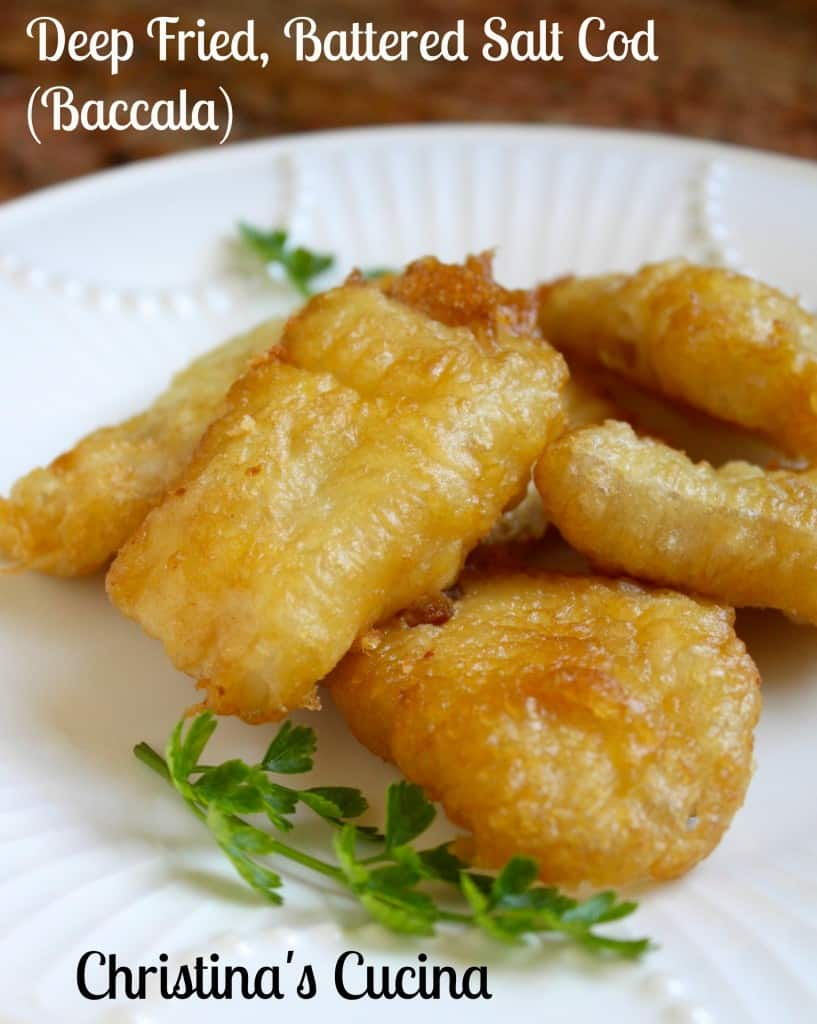 Deep fried battered salt cod baccal christina 39 s cucina for Deep fry fish batter