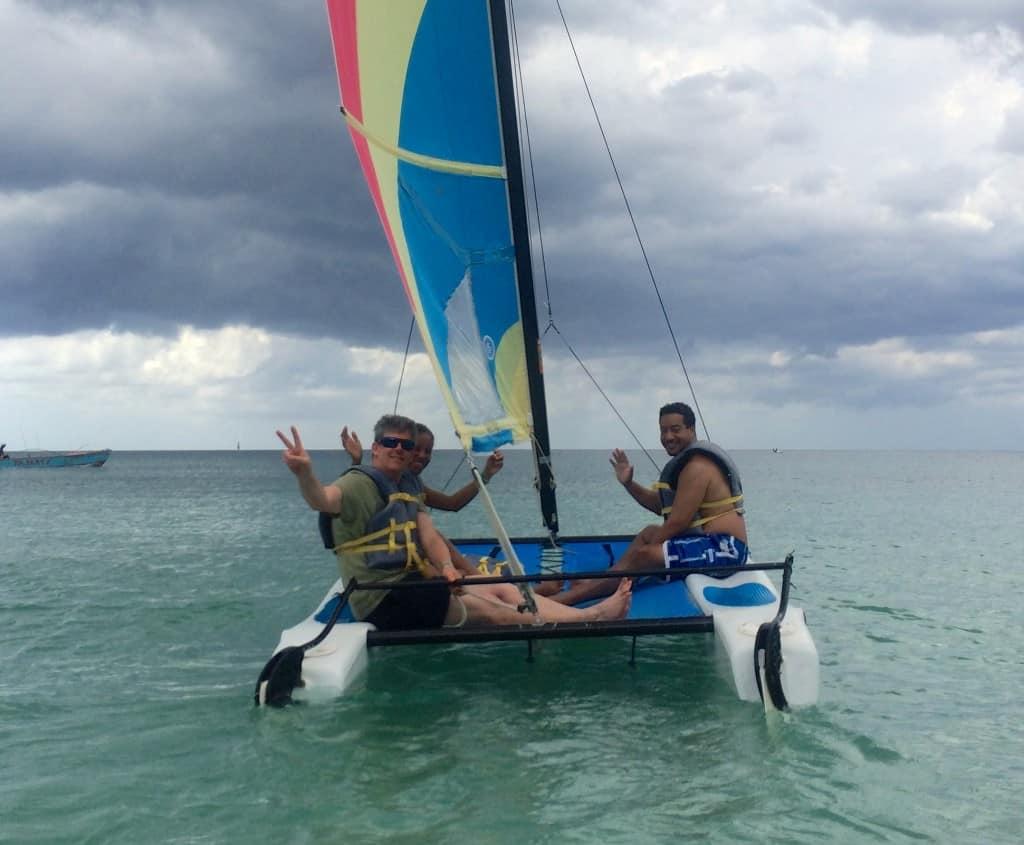 sailing dropoff