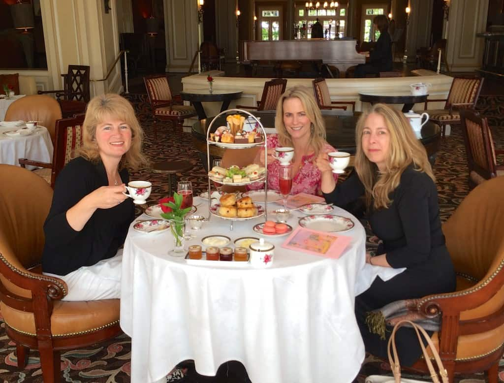 Bloggers tea at the Langham