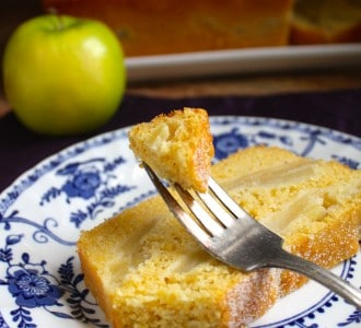 Cornbread Apple Loaf