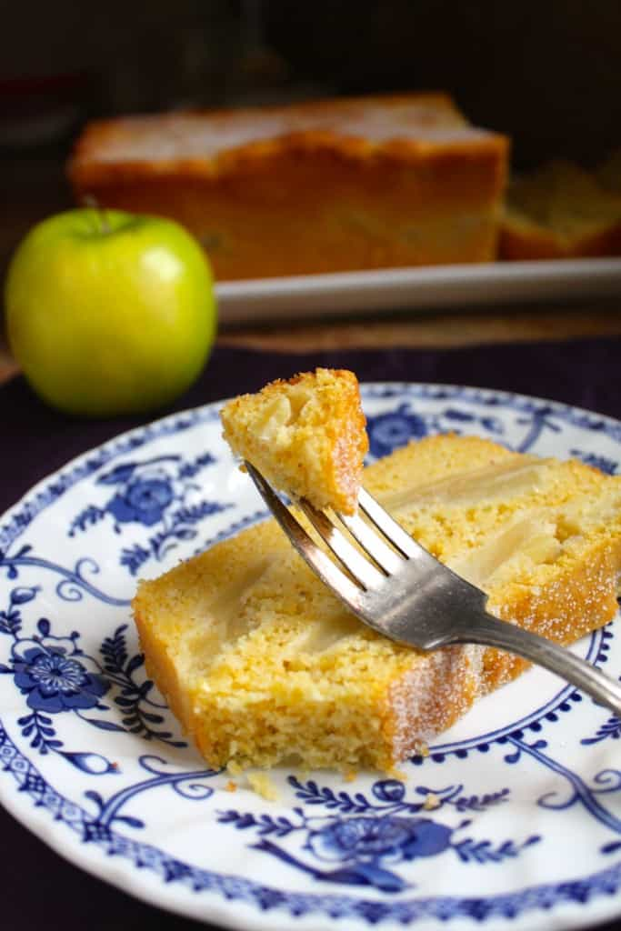 Cornbread Apple Loaf - Christina's Cucina