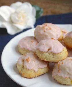 Blood Orange Ricotta Cookies