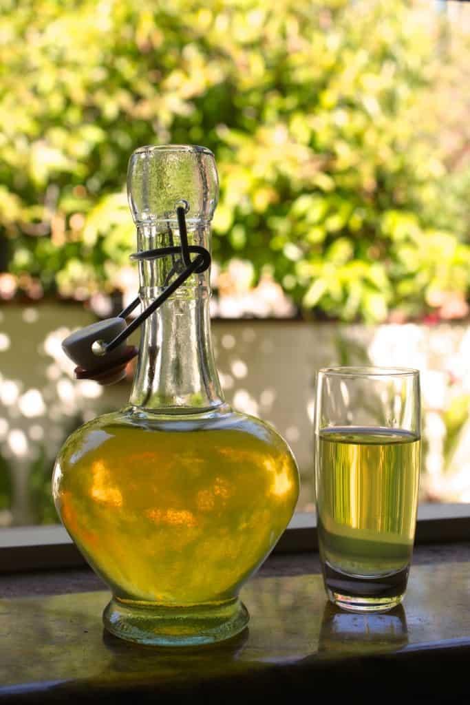 Kumquat Liqueur like Limoncello