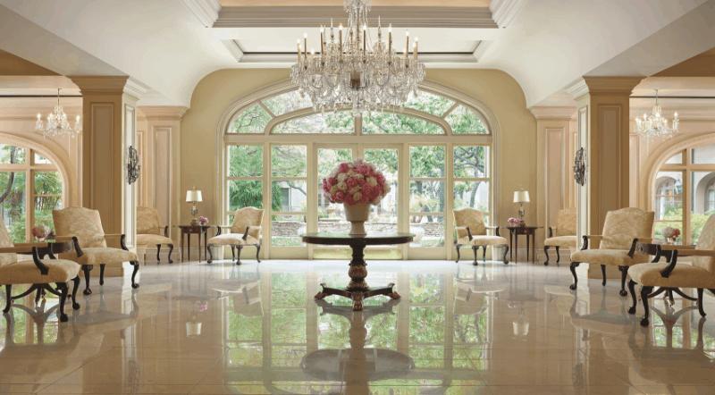 Langham lobby Pasadena