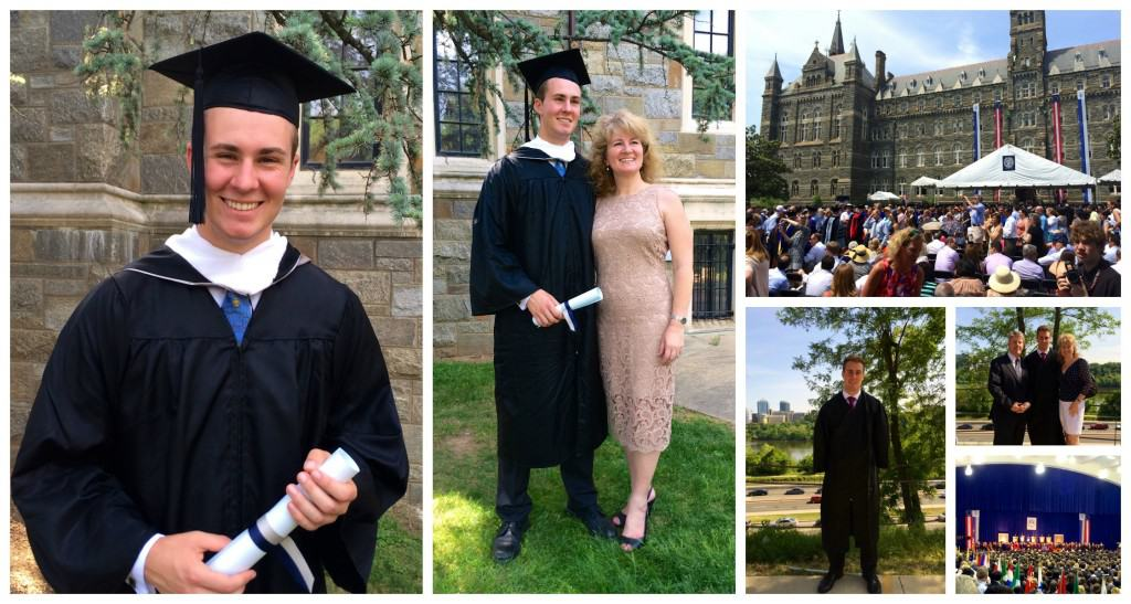 Georgetown Graduation collage