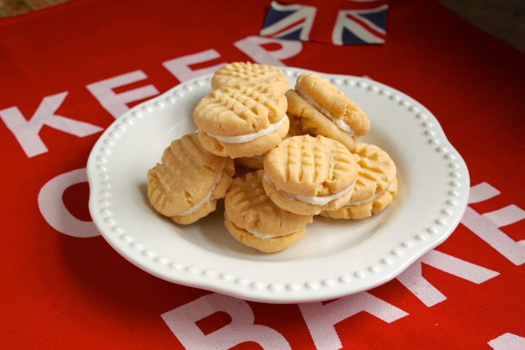 How to Woo a Brit: Bake them Homemade Custard Creams - Christina's Cucina
