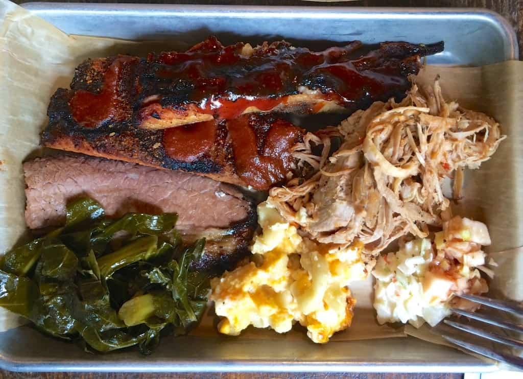 barbecue tray at City Smoke