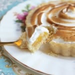 Passion Fruit and Lemon Meringue Tartlets from a Teatime in Paris Cookbook