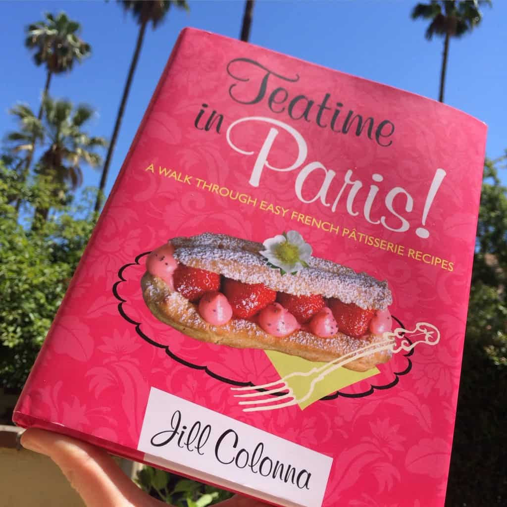 Teatime in Paris cookbook Jill Colonna
