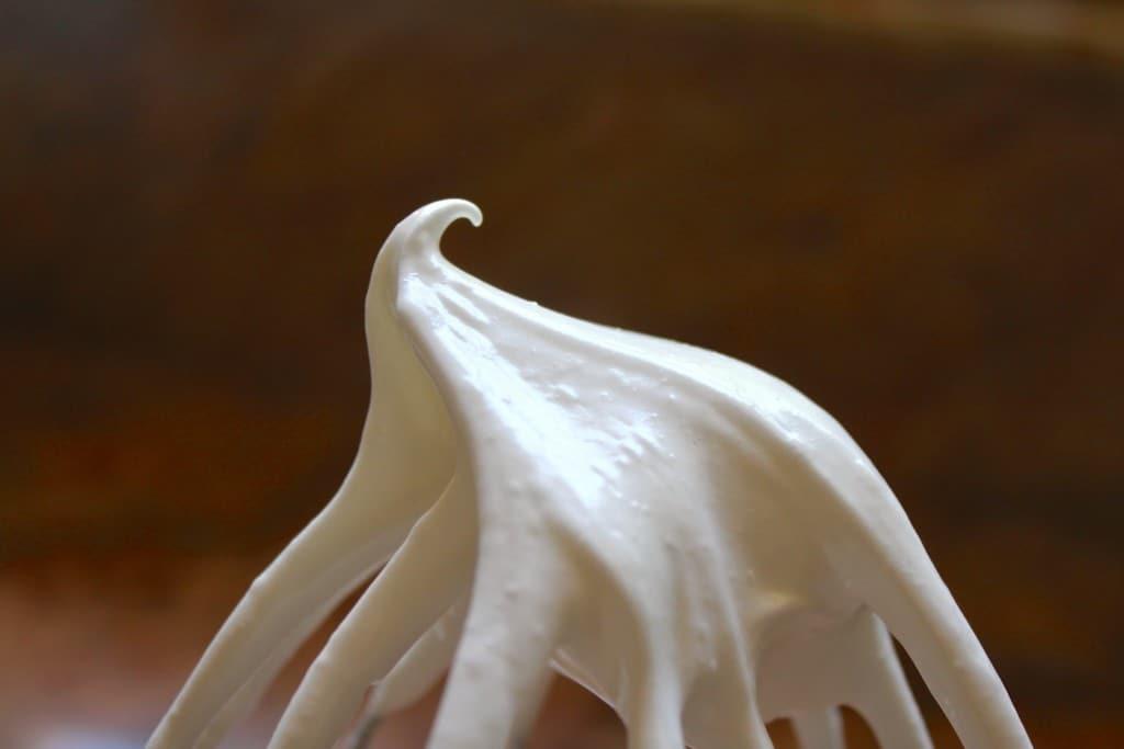 meringue stiff
