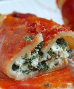 One Year Later: My Miele Dishwasher Love Affair (Review) and A Recipe for Ricotta and Spinach Stuffed Pasta Shells