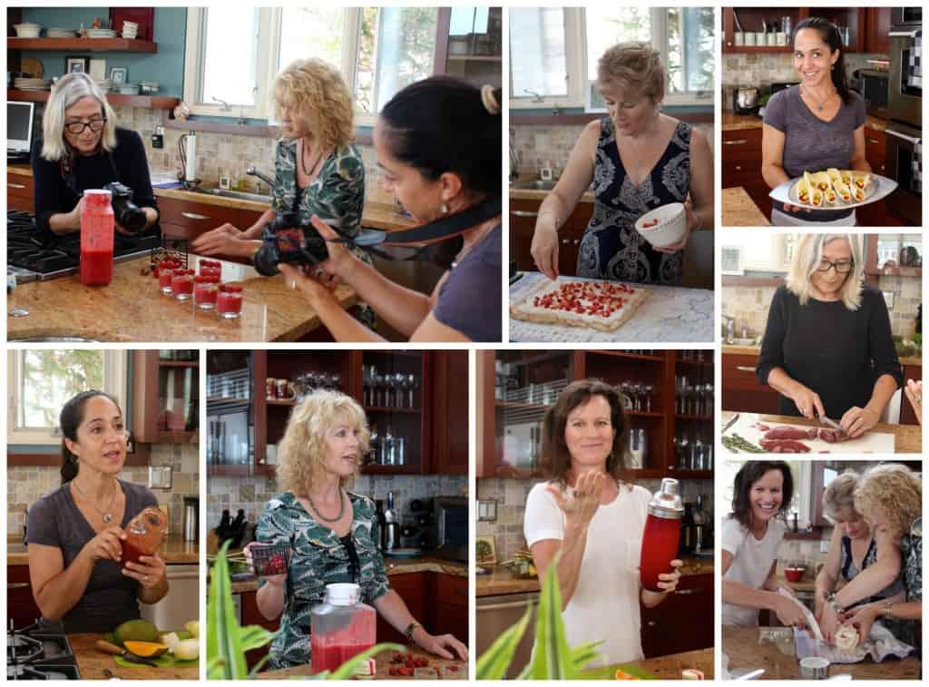 GGirls cooking easy summer entertaining menu