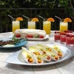A Summertime Garden Party – Easy Summer Entertaining Menu Ideas