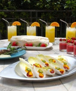 A Summertime Garden Party – Easy Summer Entertaining Menu Ideas