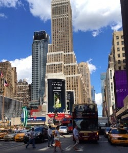 New York City and a Night at The Historic Wellington Hotel