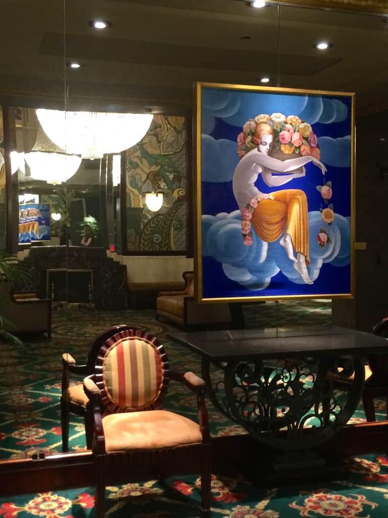 Lobby at the Hotel Wellington