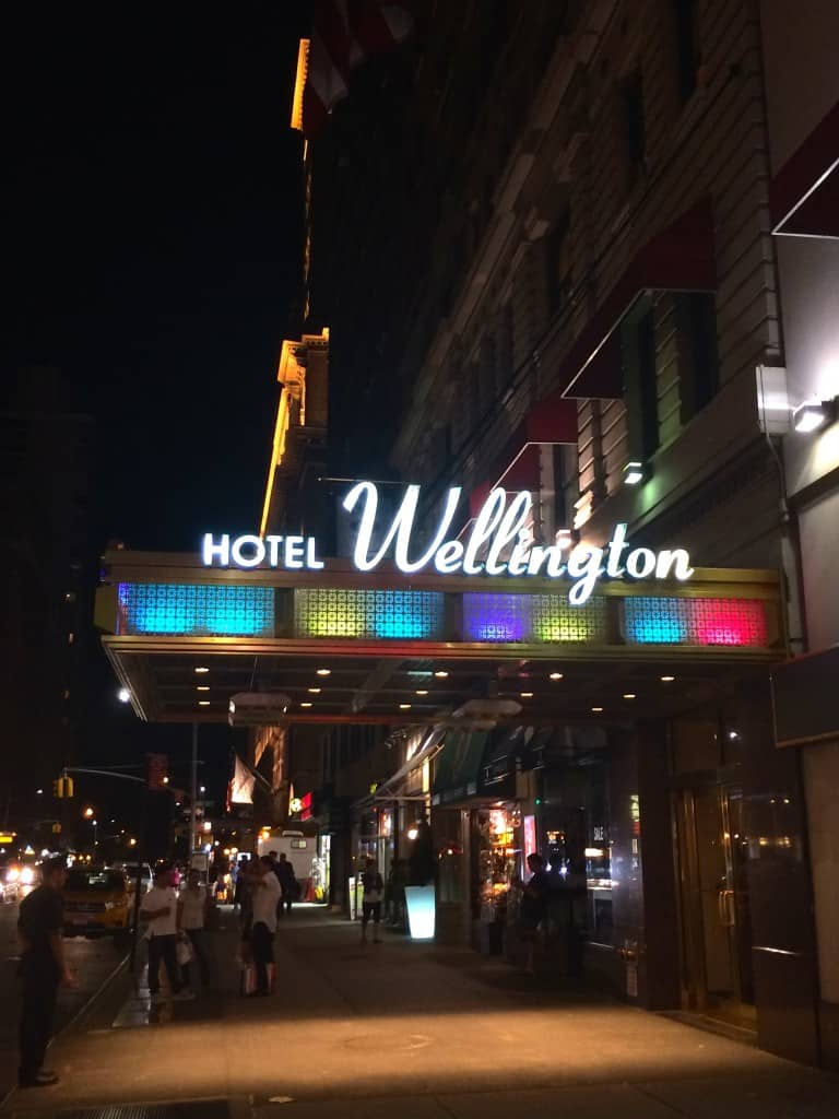 The Wellington Hotel at Night