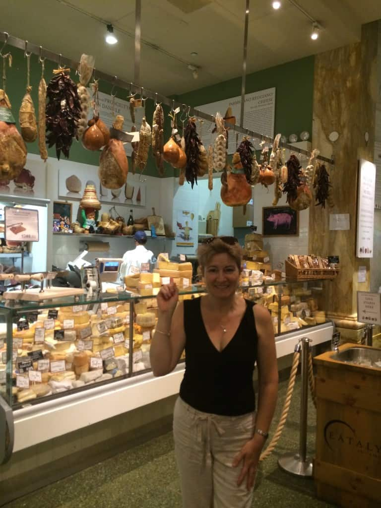 Eataly cheese