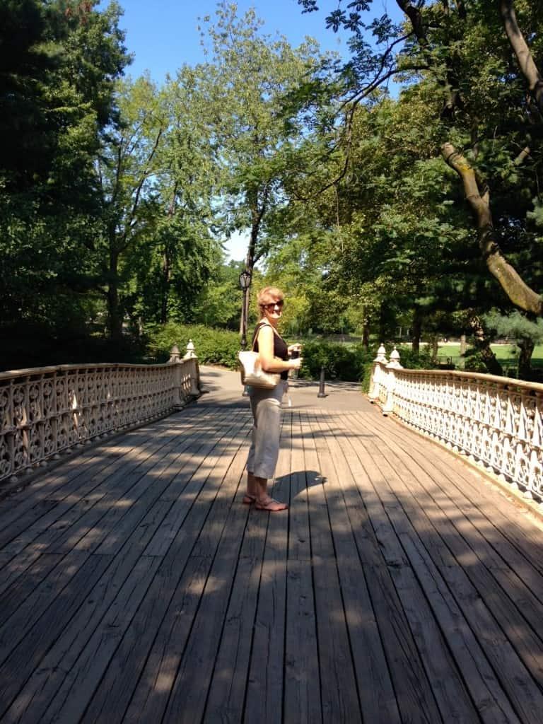 Leaving Central Park