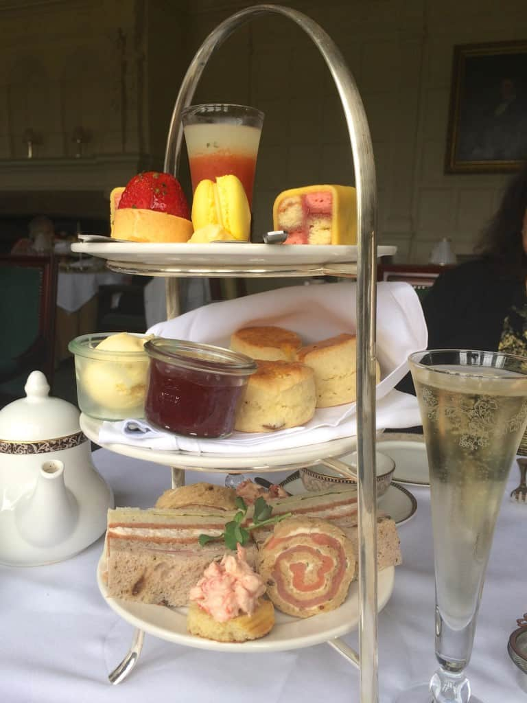 Afternoon Tea Tray at Hanbury Manor