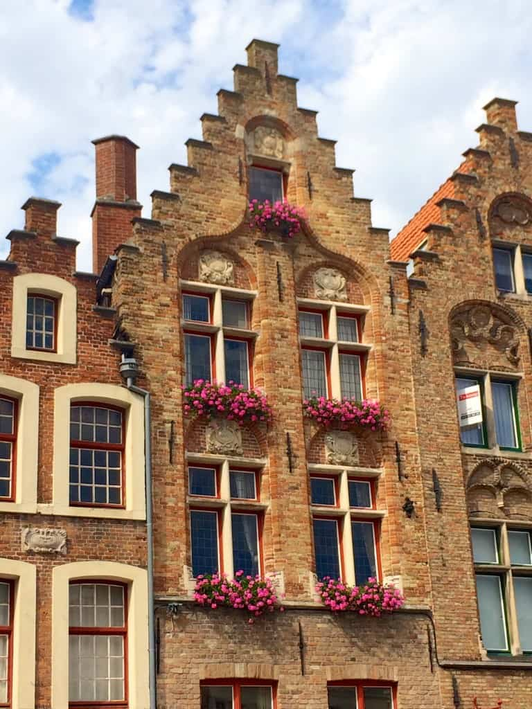 Window Boxes in Bruges